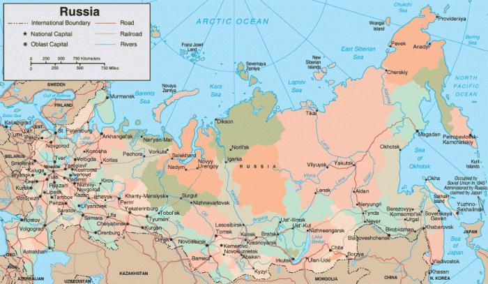 Größte Russische Städte