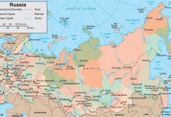plus grandes villes de la Russie. Carte de la Russie – les grandes villes