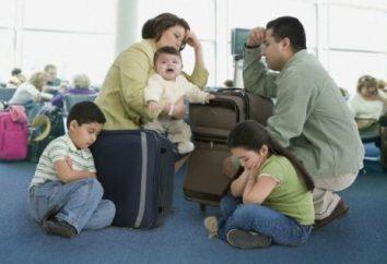 Nie trzeba płacić za przelot dzieci do jakiego wieku (pociągiem i samolotem)? Inne cechy uzyskiwania dokumentów transportowych dla dzieci
