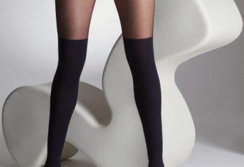 Schwarze Strumpfhose: was zu tragen, nicht das Bild zu verderben?