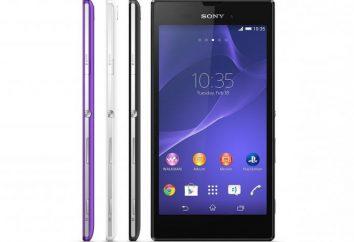 Smartphone Sony Xperia T3: caratteristiche, revisione, foto, recensioni