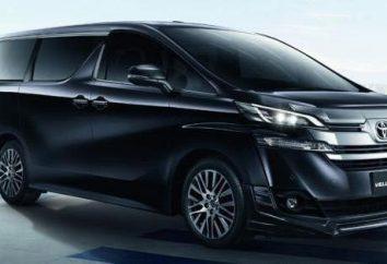 Toyota Vellfire: Übersicht & Spezifikationen