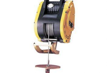 Che cosa è un paranco elettrico? paranco elettrico per i beni di sollevamento verticale