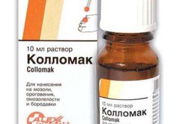 """Lek """"Collomak"""": opinie, opisy i instrukcje użytkowania"""