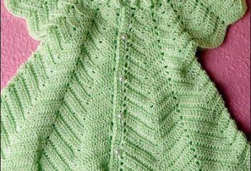 abiti flirty per crochet del bambino: lo schema. Crochet per le ragazze