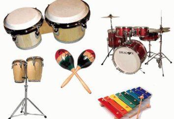 Jak stosuje się w muzyce instrumentów perkusyjnych (perkusja)? instrumenty muzyczne dla dzieci z grupy perkusji