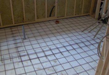 die Einrichtung der Fußböden im Bad – die wichtigsten Aspekte der Umsetzung des Betonbodens