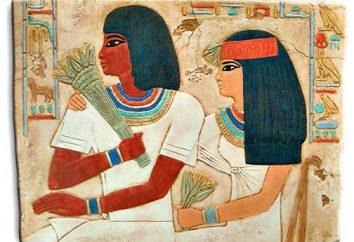 Nobili nell'antico Egitto. tombe egizie di nobili e funzionari