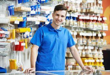 Responsabilidades, funciones y descripción del trabajo del vendedor de productos no alimenticios