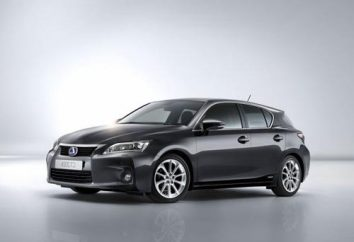 Vue d'ensemble lexus ct 200h