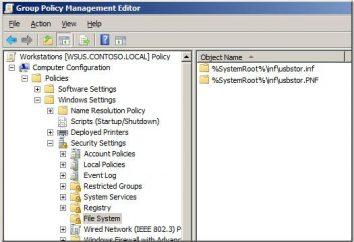 Zasady grupy w systemie Windows. Windows 8 – Group Policy
