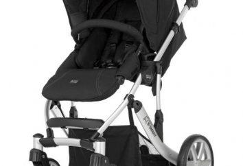 Britax wózek: cechy, zalety i wady