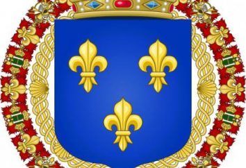 Francia stemma. stemma medievale di Francia. La storia della Francia stemma