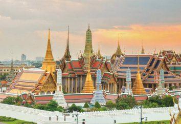 Grand Palais (Bangkok): une description des sites