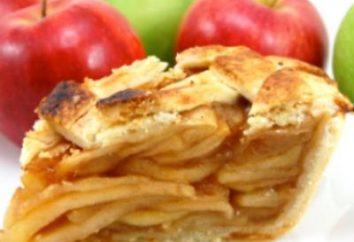 El concepto es simple – receta de Charlotte con las manzanas en el kéfir