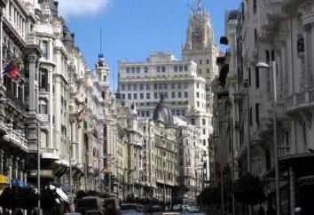 La capitale de l'Espagne