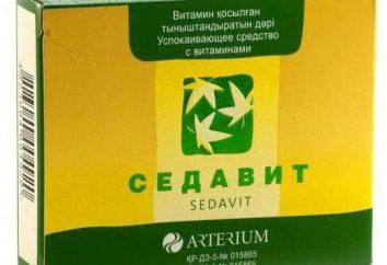 """Medycyna """"Sedavit"""" – instrukcję obsługi, analogi, prawdziwych lekarzy"""