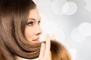 cabelo gelatina. Comentários após a aplicação