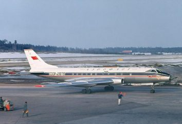 Tupolew-124 nad Newą (sierpień 1963). Awaryjne lądowanie na wodzie