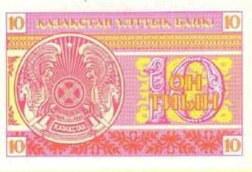 Kazako tenge – una delle valute più protetti del mondo