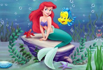 """Mała syrenka Ariel ( """"Disney""""). Wygląd, charakter, ciekawostki"""