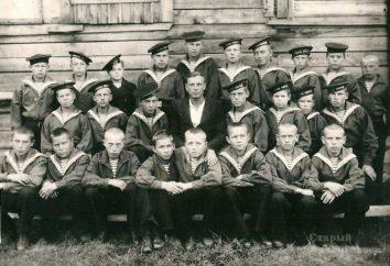 Solowezki-Schule Lehrlinge sowjetische Marine Geschichte, Alumni, Speicher