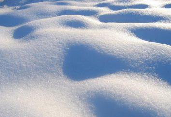 Co to jest śnieg? Jak jest śnieg?