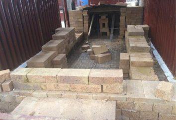forno de tijolo: caracterização, descrição, particularmente alvenaria e comentários