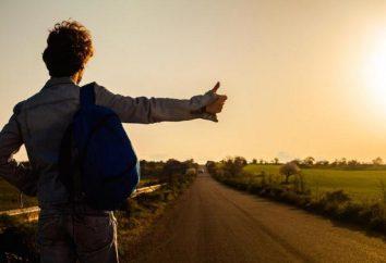 Autostopem: plusy i minusy, zasady, opinie