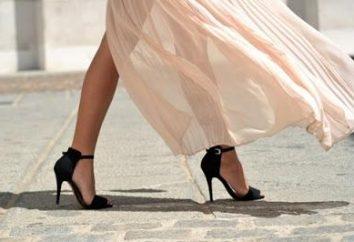 Bellos zapatos de tacones altos están siempre en tendencia!