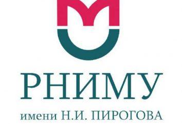 RNIMU im. Historia N. I. Pirogova. Uniwersytet Medyczny Rosyjski (Moskwa, Rosja): Adres, wydziały, działy