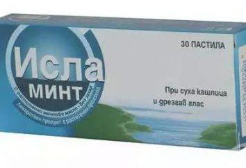 """""""Isla-Mint"""": instructions d'utilisation. Description du médicament, revues, prix"""
