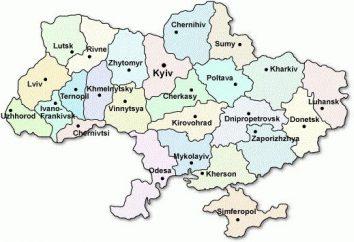 Jaki sprzeciw reprezentuje mapa polityczna Ukrainy