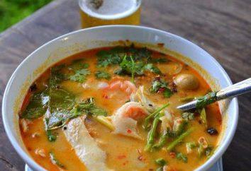 """Sopa tailandesa """"Tom Yam"""": fotos de receitas"""