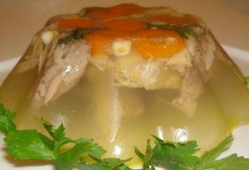 jarret de porc en gelée: Recette