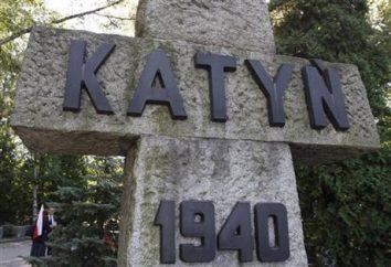 Katyn: l'esecuzione di ufficiali polacchi. La storia della tragedia di Katyn