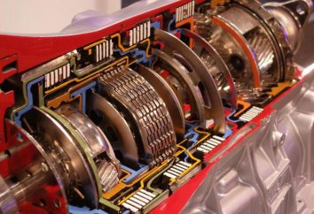 Sprzęgła automatyczne (płyty cierne). Automatyczna skrzynia biegów: urządzenie