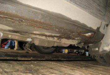 Le fond de la VAZ-2110: la réparation. Recommandations et photos