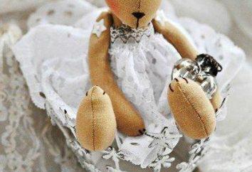 Motif d'ours en tissu. Comment coudre un ours jouet en peluche leurs propres mains