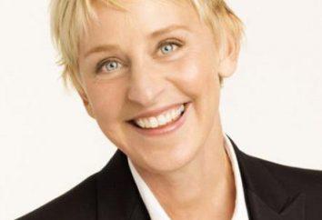 Ellen DeGeneres, amerykańska aktorka i prezenterka telewizyjna, nie ukrywają swoją orientację seksualną