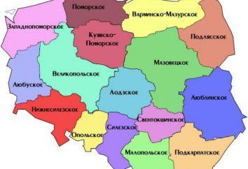 Província Polónia: descrição, história, e uma lista de fatos interessantes