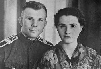 A esposa de Gagarin. Valentina Ivanovna Gagarina: biografia e foto