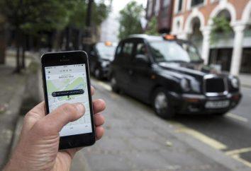 Uber: Avis des passagers. service de taxi