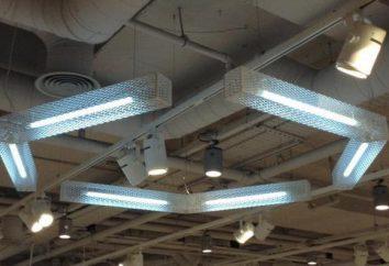 Installation de l'éclairage: les instructions et les règles de base