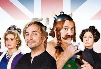 """""""Asterix e Obelix nel Regno Unito."""" Attori meravigliosa commedia avventura"""