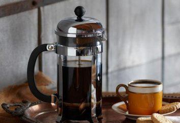 Avec piston Teapot: comment l'utiliser correctement