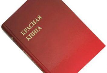 Il Libro Rosso della zona di Tver: la struttura e lo stato della specie