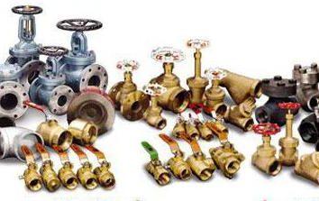 ¿Cuál es la válvula de agua? Aparato, el dibujo y la conexión de circuito