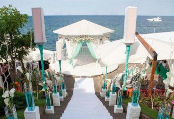 """Odessa, """"vela"""" – un restaurante en la playa. La descripción, menú, precio"""