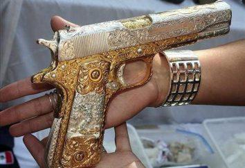 Prémio armas russas: uma foto, uma autorização para transportar, armazenar, como obter armas prémio